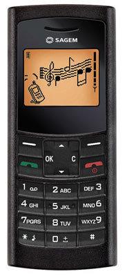 Sagem my100X Telefon komórkowy