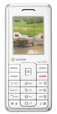 Sagem my419X