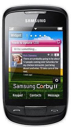 Samsung S3850 Corby 2 Telefon komórkowy